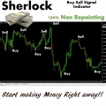 *SHERL0CK* Buy/Sell Signal NO REPAINT Indicator for Forex, HIGHLY PROFITABLE!!