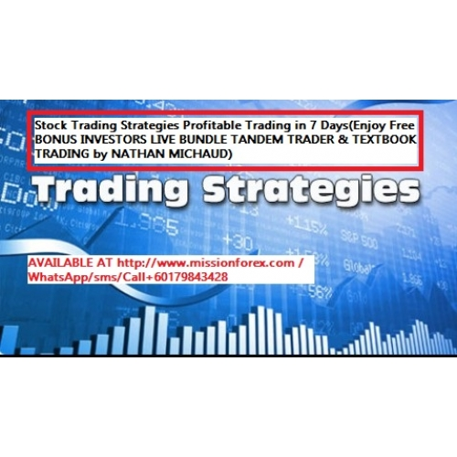 Stock Trading Strategies Profitable Trading in 7 Days(Enjoy