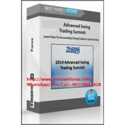 Advanced Swing Trading Summit – Learn How To Successfully Swing Trade In Just One Day