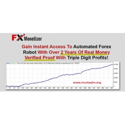 FX Monetizer — 2 years of profitable work on the real account