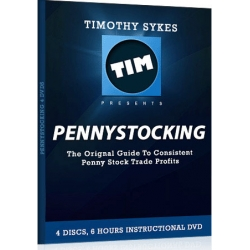 Tim Sykes PennyStocking Part Deux 4DVDs