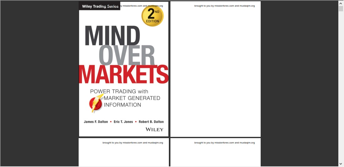 James DALTON – The Field of Vision with dalton forex indicator and ,Mind Over Markets Power