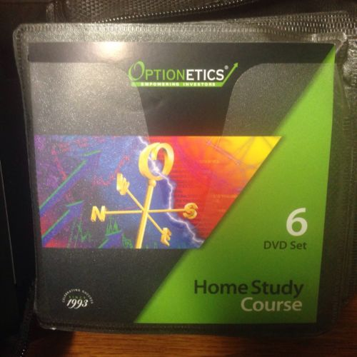 Optionetics 6 DVD that come with the Optionetics course Set 15 cd