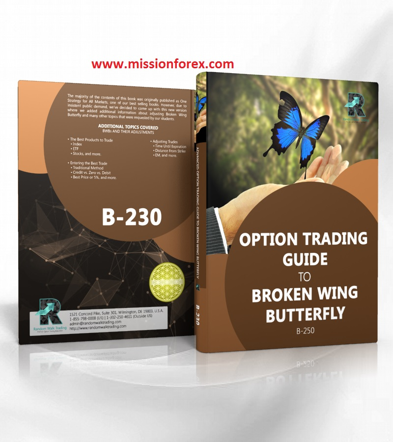 Broken wing butterfly options trade