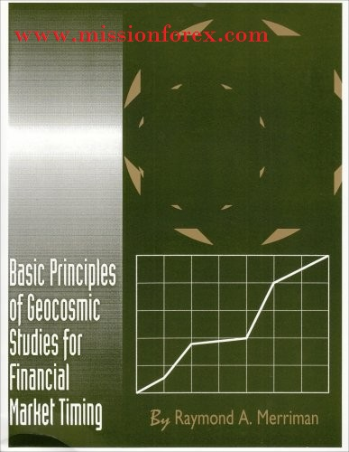 Basic Principles of Geocosmic Studies for Financial Market Timing