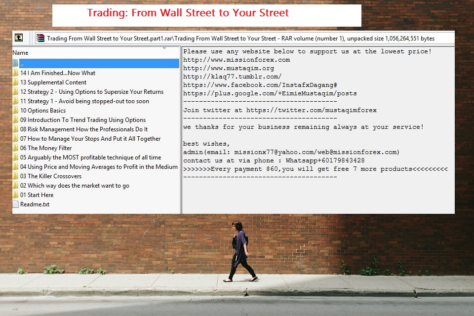 From Wall Street to Your Street1