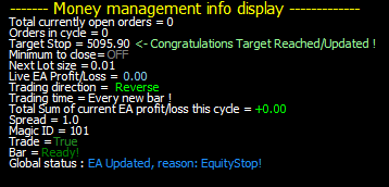 forex ea robot fxshare hedge channel trafing sytem display