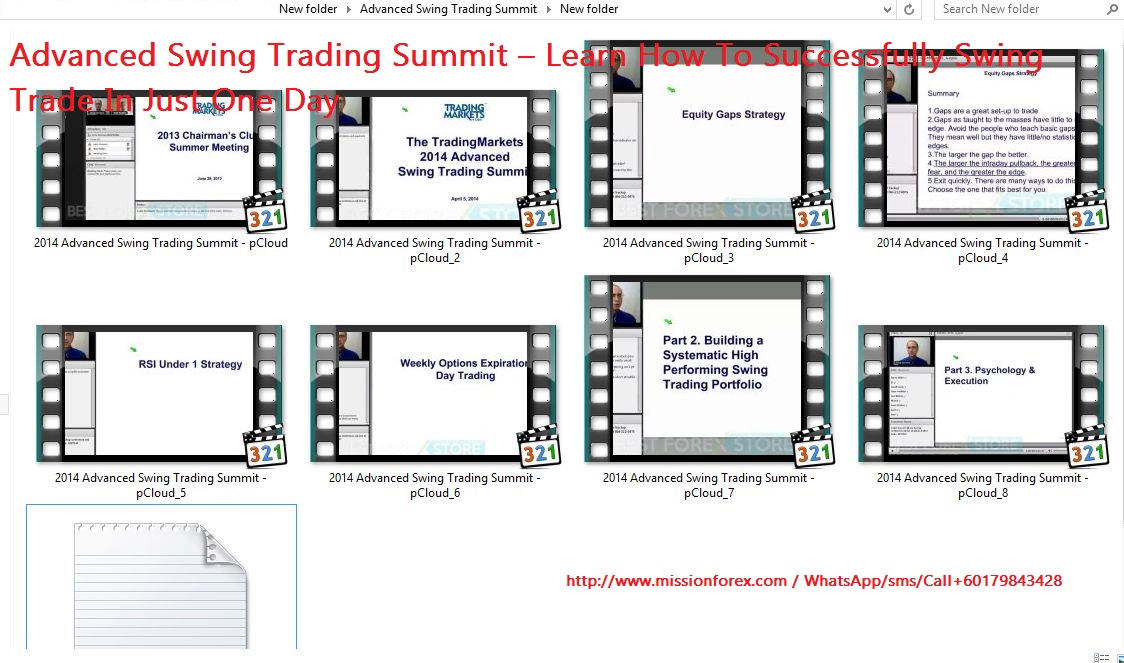 Advanced Swing Trading Summit
