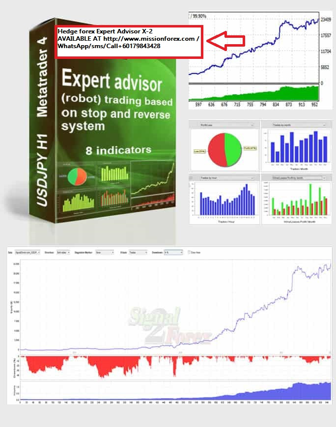Hedge forex Expert Advisor X-2