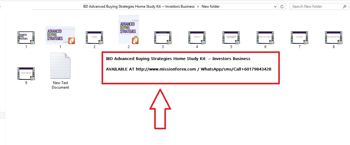 IBD Advanced Buying Strategies Home Study Kit  – Investors Business
