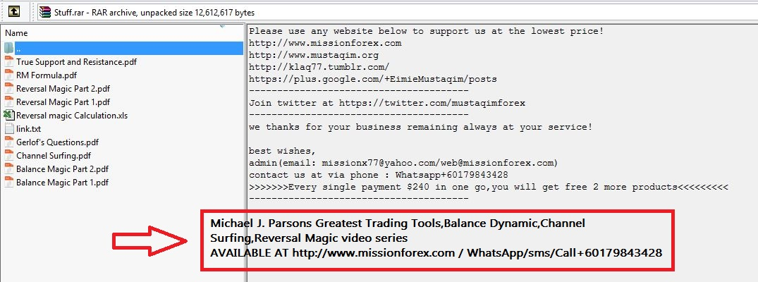 Michael J. Parsons Greatest Trading Tools,Balance Dynamic,Channel Surfing,Reversal Magic video series