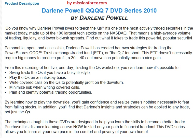 Darlene Nelson Powell Trading the Qs