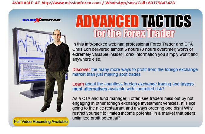 Forex Mentor – Chris Lori – Advanced Forex Tactics Webinar