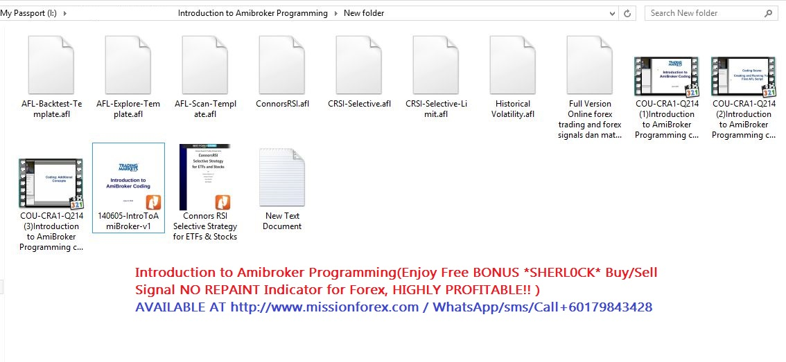 Introduction to Amibroker Programming(Enjoy Free BONUS