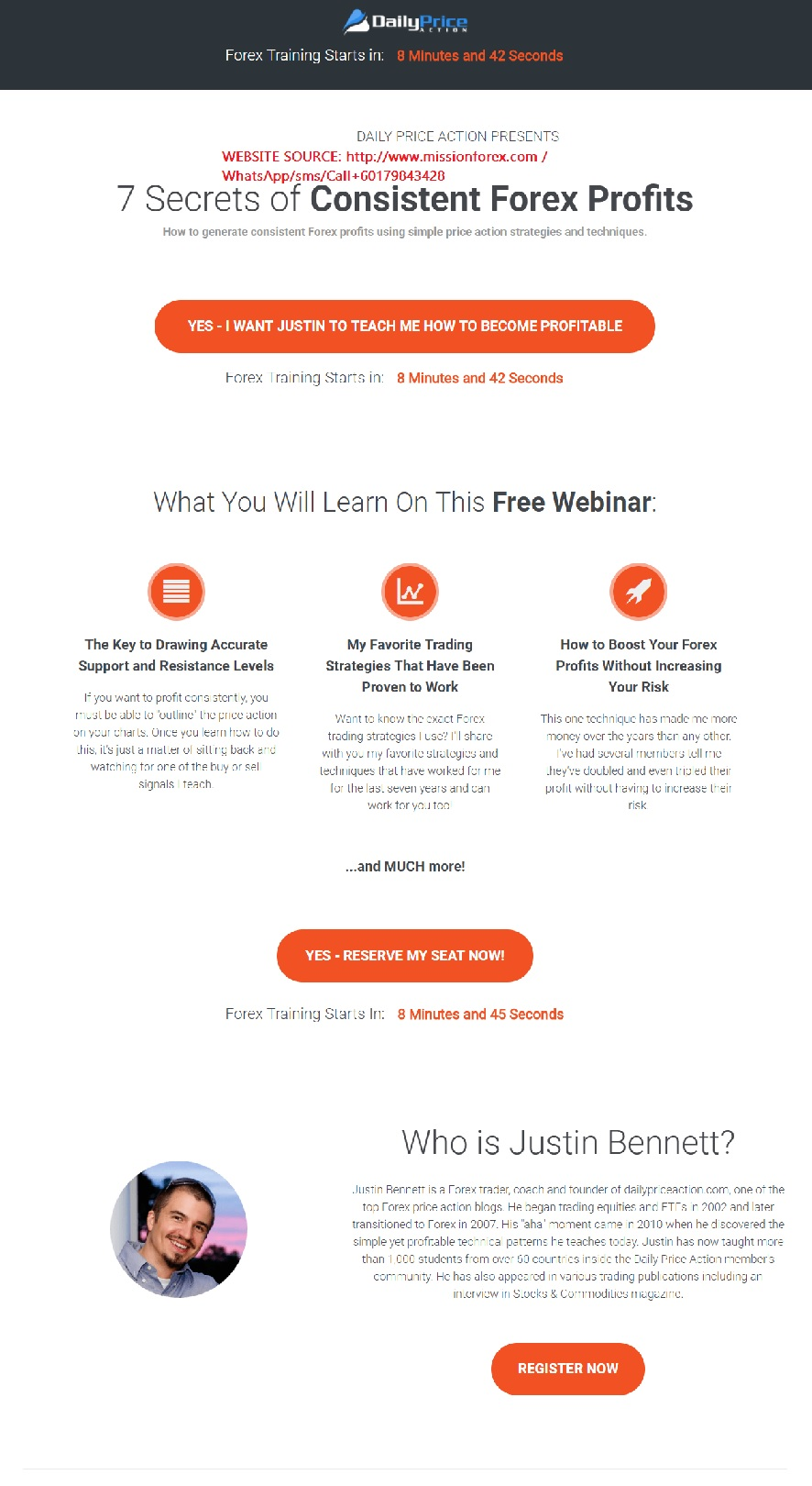 Justin Bennett – Daily Price Action Course  11