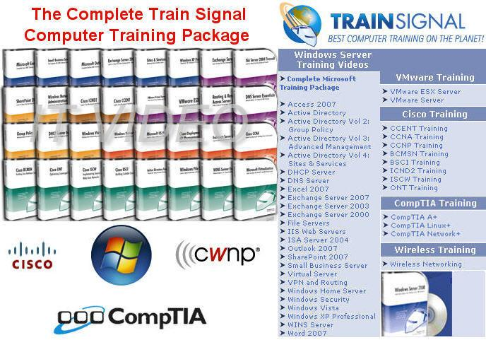 TrainSignal - CBT Training for Networking