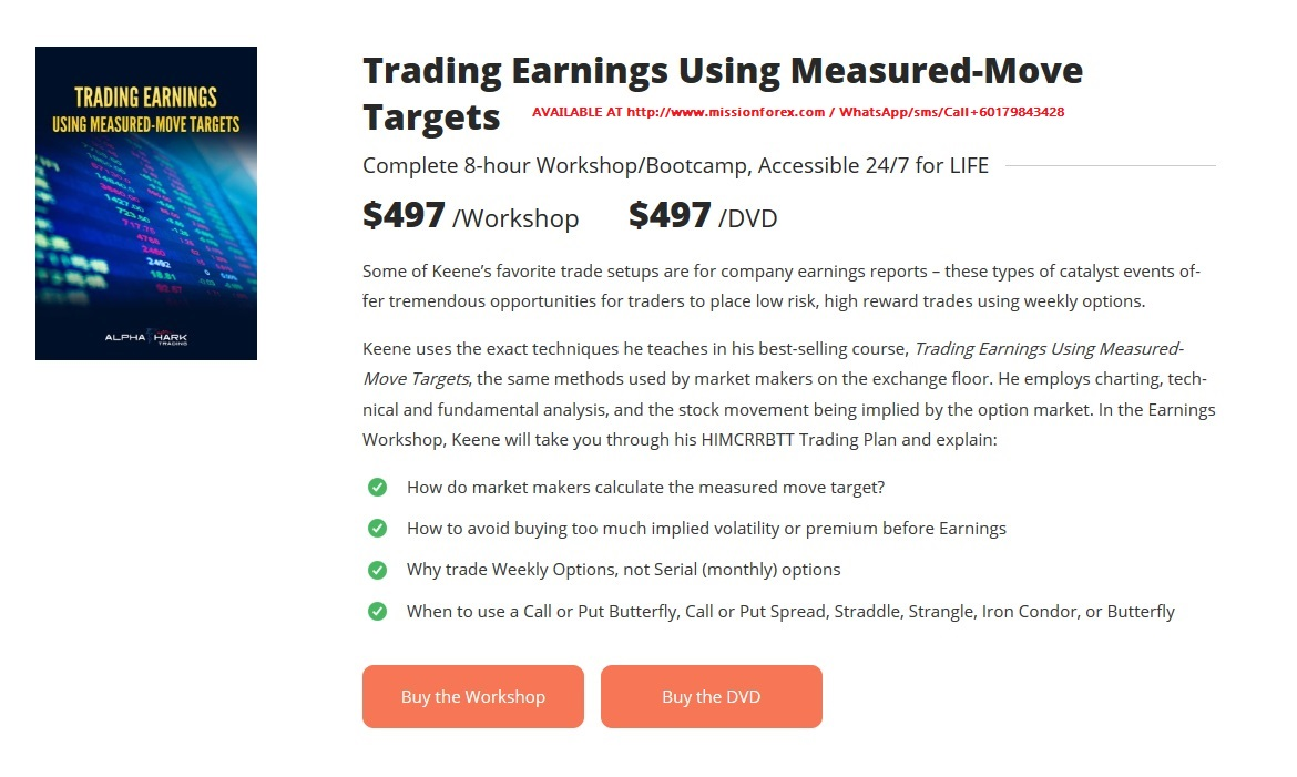 AlphaSharks - Trade Earnings Using Measured Moverr