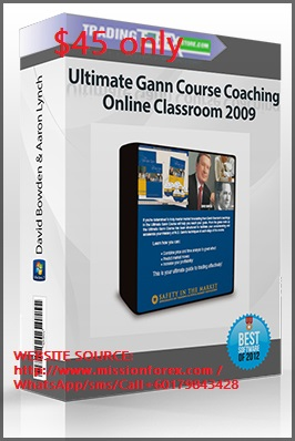 David Bowden The Ultimate GANN Course