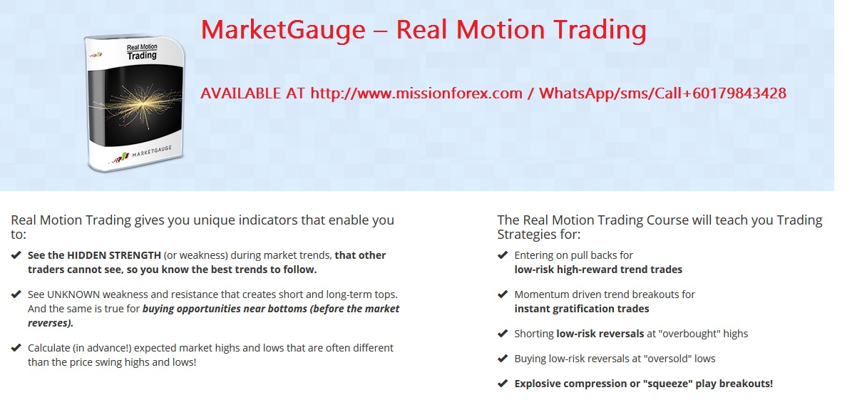 MarketGauge – Real Motion Trading