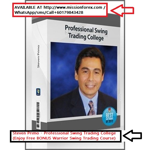 Steven Primo - Professional Swing Trading College (Enjoy Free BONUS Warrior Swing Trading Course)