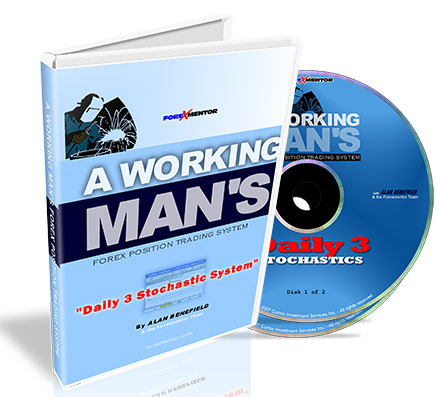 Trade forex part-time with A Working Man's Forex Position Trading System, Daily 3 Stochastic System