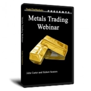 Metals Webinar DVD by John Carter and Hubert Senters