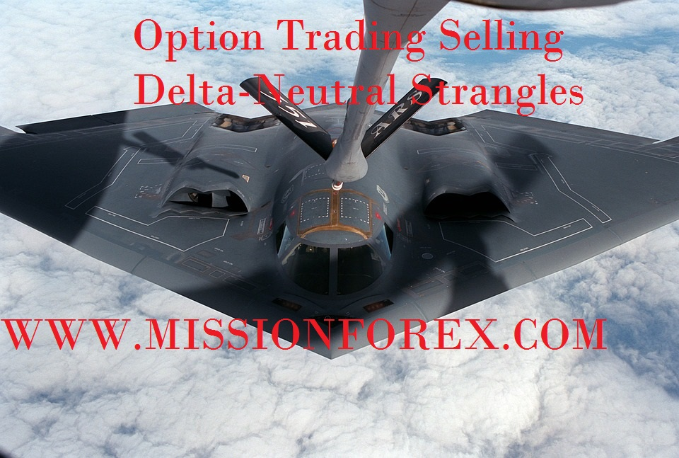 Delta neutral options trading