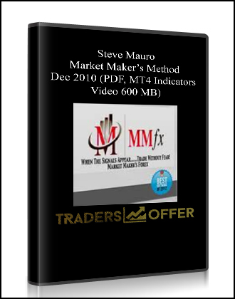 Steve Mauro – Market Maker Method – 4 Day Course with Indicators