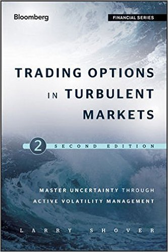 Trading Options in Turbulent