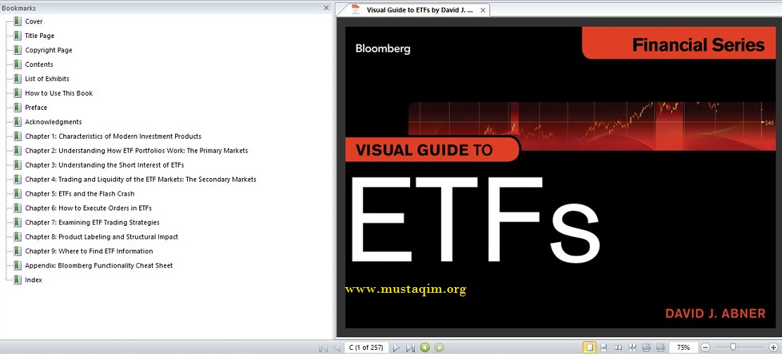 Visual Guide to ETFs by David J. Abner1
