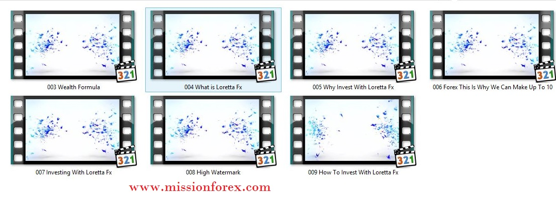 Learn A Lucrative New Way To Invest Invest With Loretta Fx (2016)