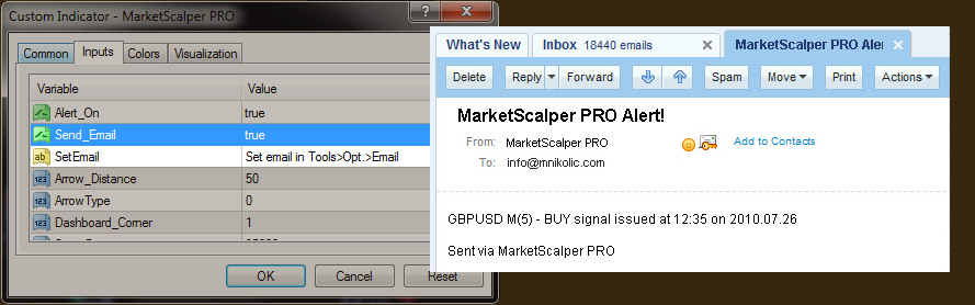 Market Scalper Pro and Trade Builder Core