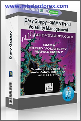 GUPPY - Trend Volatility Management (forex fx tutorial)