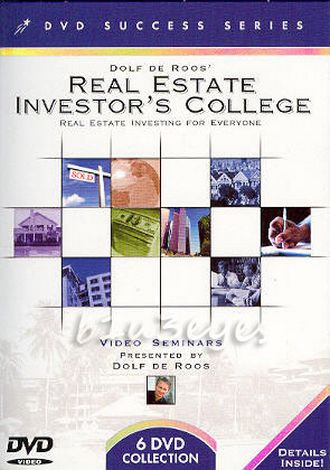 Dolf De Roos Real Estate Investor College with Power of hexagon