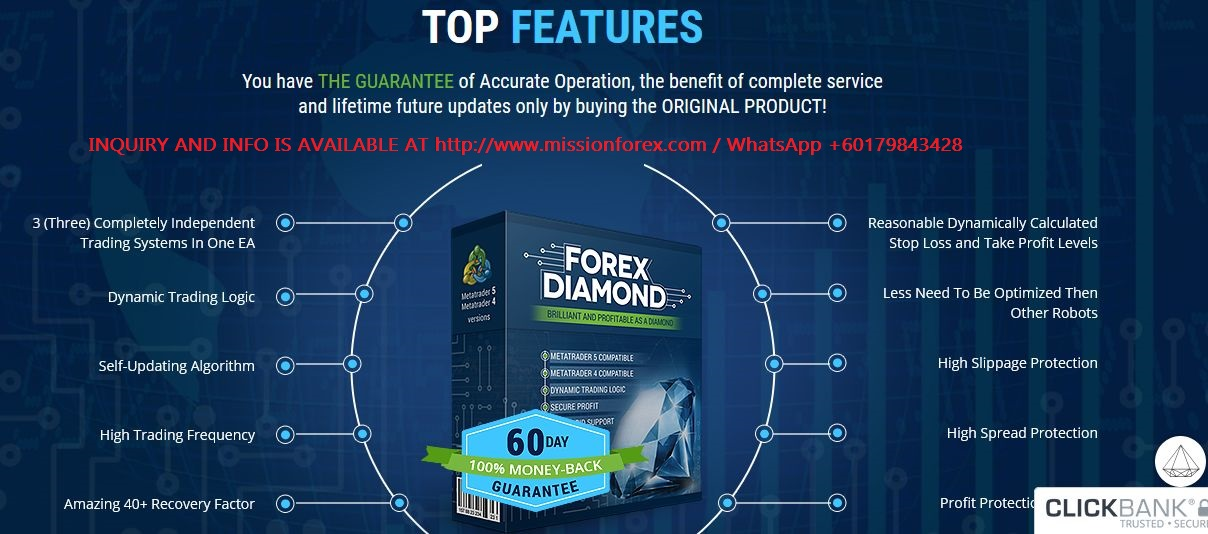 Diamond forex Robot2